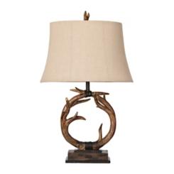 Dalton Antlers Table Lamp