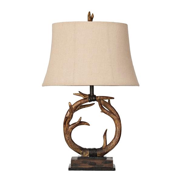 ... Dalton Antlers Table Lamp ...