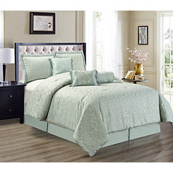 Sage Crowley 7-pc. Queen Comforter Set