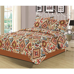 Spice Breckenridge 3-pc. Full/Queen Quilt Set