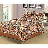 Spice Breckenridge 3-pc. King Quilt Set