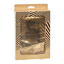 24K Gold Collagen Face Masks, Set of 5
