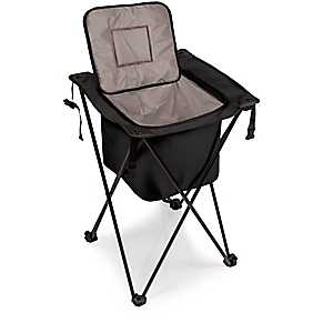 Black Sidekick Portable Cooler With Legs