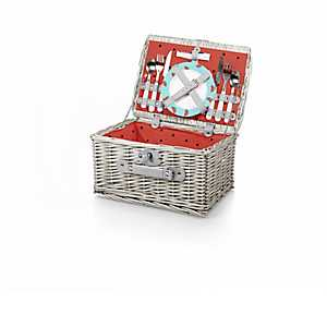 Watermelon Catalina 14-pc. Picnic Basket