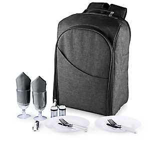 Gray Colorado 14-pc. Insulated Backpack Picnic Set