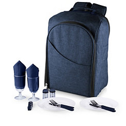 Navy Colorado 14-pc. Insulated Backpack Picnic Set