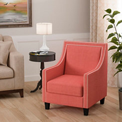 Emma Coral Accent Chair