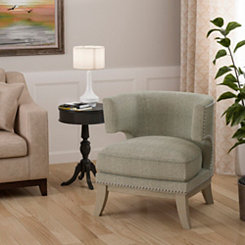 Harper Gray Accent Chair