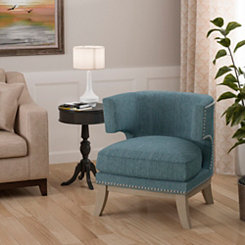 Harper Blue Accent Chair