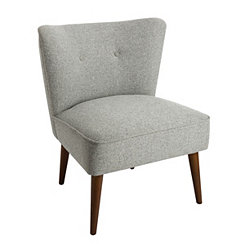 Ella Gray Accent Chair