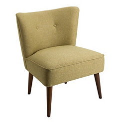 Ella Green Accent Chair