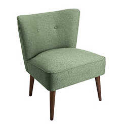 Ella Teal Accent Chair