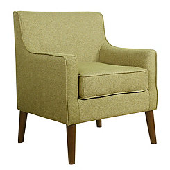 Green Mid-Century Accent Chair