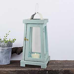 Blue Beach House Lantern