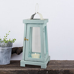 Blue Beach House Lantern