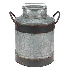 Rustic Galvanized Milk Jug
