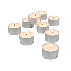 Extended Burn Tealight Candles, Set of 200