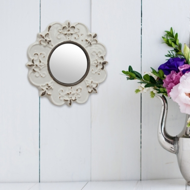 Bathroom Mirrors Kirklands metal rope wall mirror | kirklands