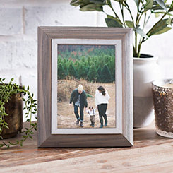 White Wood Tone Tabletop Picture Frame, 5x7