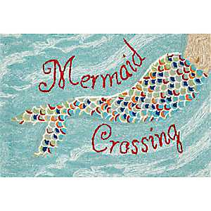 Mermaid Crossing Indoor/Outdoor Rug