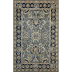 Blue Uttar Area Rug