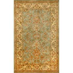 Blue Medallion Area Rug