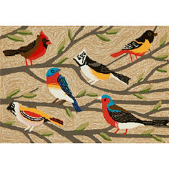 Bright Birds Indoor/Outdoor Mat