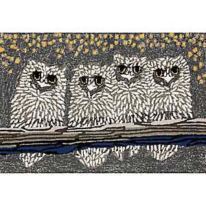 Night Owls Indoor/Outdoor Mat