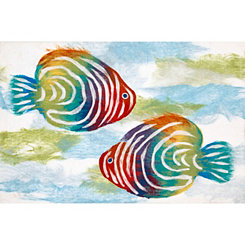Rainbow Fish Indoor/Outdoor Mat