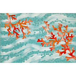 Red Coral Indoor/Outdoor Mat