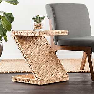 Zico Water Hyacinth Accent Table