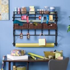 Saper Craft Storage Wall Rack with Baskets