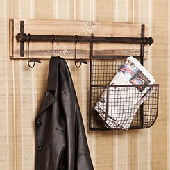 Bitner Wall Hook with Basket