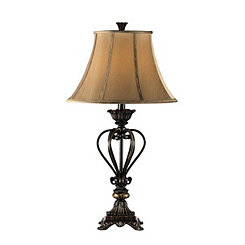 Bronze Urn Table Lamp