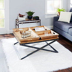 Mason Industrial Coffee Table