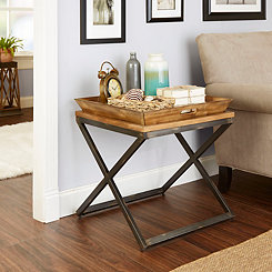 Mason Industrial Accent Table