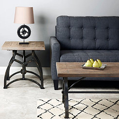 Jacob Industrial Accent Table