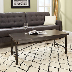 Hugo Industrial Rectangular Coffee Table