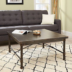 Hugo Industrial Square Coffee Table