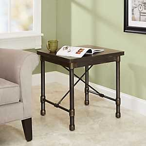 Hugo Industrial Accent Table