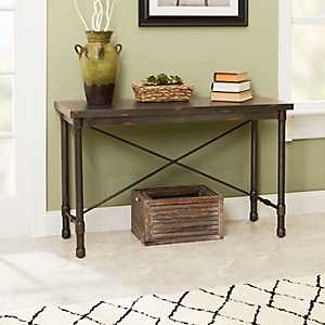 Hugo Industrial Console Table