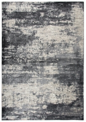 Gray and Tan Abstract Area Rug, 5x8
