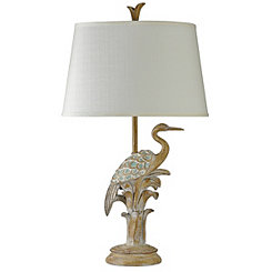 Bird on the Beach Table Lamp