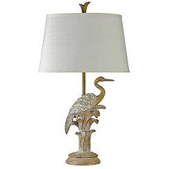 Bird on the Beach Table Lamp