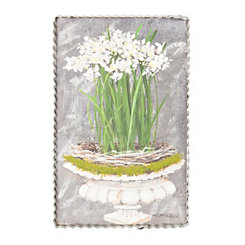 Paper Whites Framed Art Print