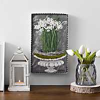 Paper Whites Framed Art Print