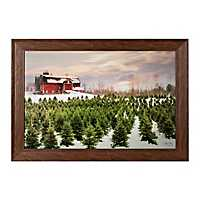 Tree Farm Framed Art Print