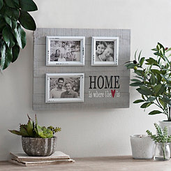Where the Heart Is Pallet Photo Collage Frame
