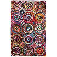 Bright Circles Tangier Area Rug