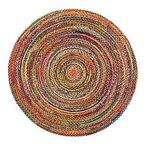 Sayulita Round Cotton Rug, 8 ft.